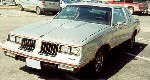 Front view of another 1984 Hurst/Olds Cutlass