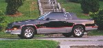 The other side of the Black 1985 Hurst/Olds