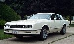 One fast SS, according to the owner.  White 1984 Monte Carlo SS