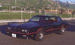 Great looking black 1985 Monte Carlo SS