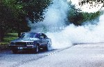 Another Buick Turbo T doing a burnout
